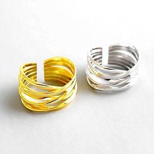 🍒3/$30 New Adjustable Multistrand Ring